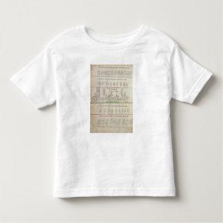 La reina en su litera t-shirt