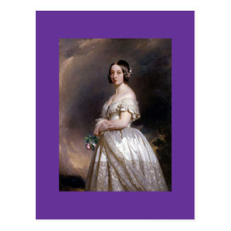 La reina joven Victoria Tarjeta Postal