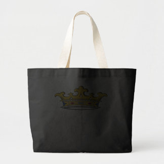 ¡La reina, mamá! ¡Una corona con la actitud para l Bolsas Lienzo