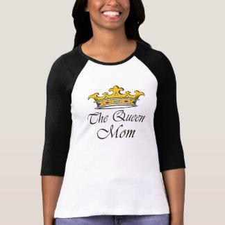 ¡La reina, mamá! ¡Una corona con la actitud para Camisetas