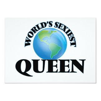 La reina más atractiva del mundo comunicado personal