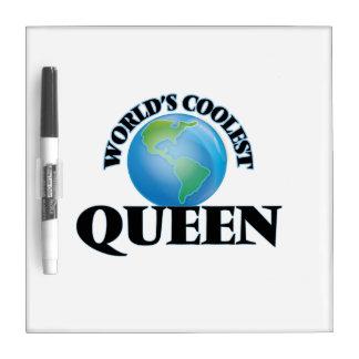 La reina más fresca del mundo pizarra