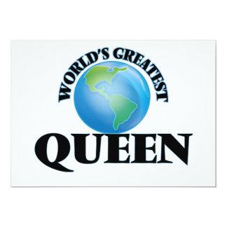 La reina más grande del mundo comunicado