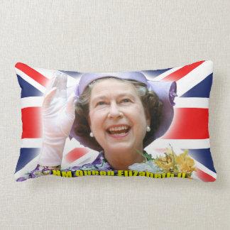 ¡La reina - orgullo de Britain! Almohadas
