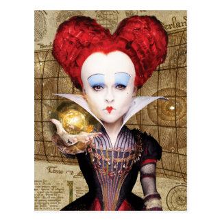 La reina roja el | no es atrasada tarjetas postales