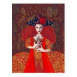 La reina roja postal