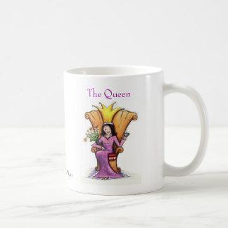 La reina tazas