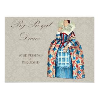 La reina Victoria real invita