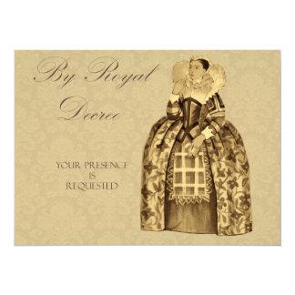 La reina Victoria real invita Anuncios