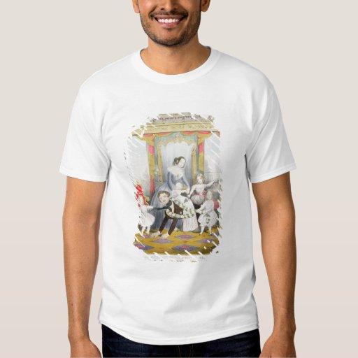 La reina y el Príncipe Alberto en casa Camisas
