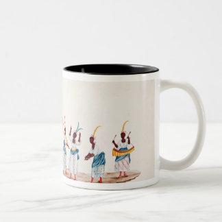 La reina y su habitación tazas de café