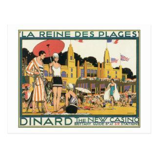 La Reine De Plages Dinard The New Casino Postcards