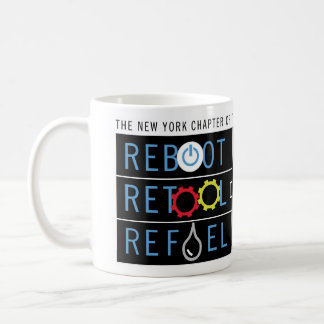 La reinicialización, equipa con nuevas máquinas y  tazas de café