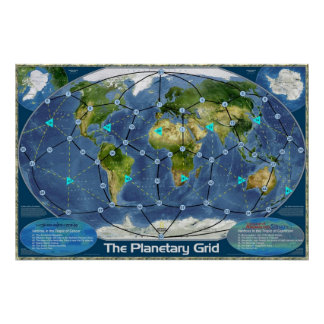 La rejilla planetaria póster