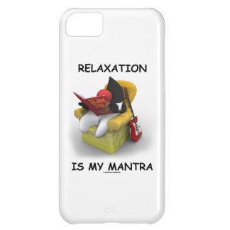 La relajación es mi mantra (duque Code de Java) Funda Para iPhone 5C