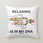 La relajación está en mi DNA (la réplica de la Almohada
