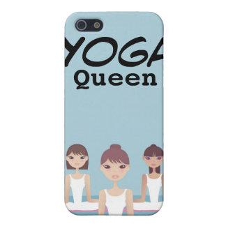 La relajación Exercis de la yoga personalizó la ca iPhone 5 Cobertura