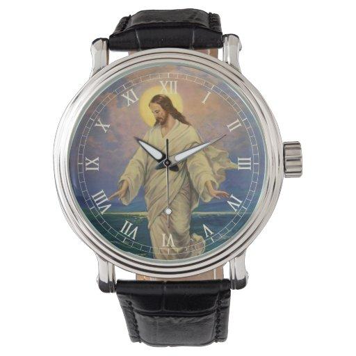 La religión del vintage, Jesucristo está caminando Relojes De Mano