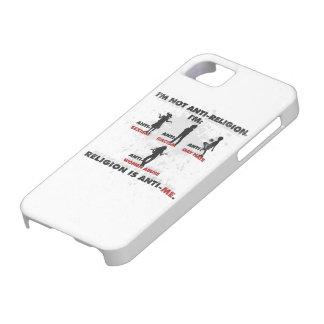 La religión es Anti-Me. iPhone 5 Carcasa