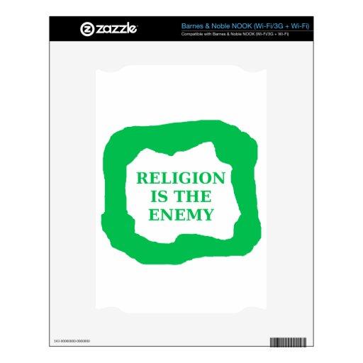 La religión es el enemigo, .png verde skins para elNOOK