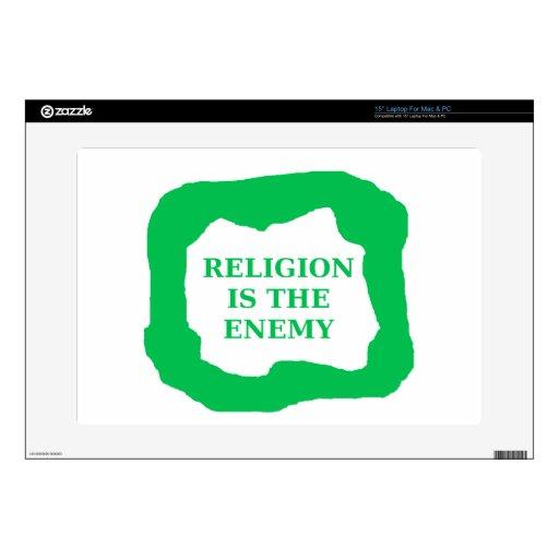 La religión es el enemigo, .png verde skins para portátil
