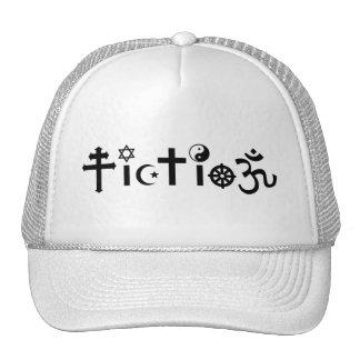 La religión es ficción gorros bordados