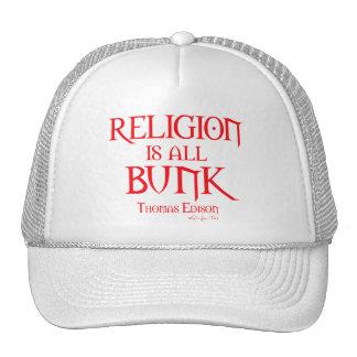 La religión es toda la litera 2 gorro de camionero