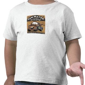 La remolque Mater Disney de los coches Camisetas