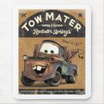 La remolque Mater Disney de los coches Alfombrilla De Raton