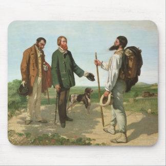 La Rencontre, or Bonjour Monsieur Courbet, 1854 Mouse Pad