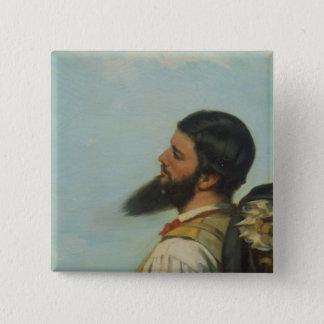 La Rencontre ou Bonjour M.Courbet, Button