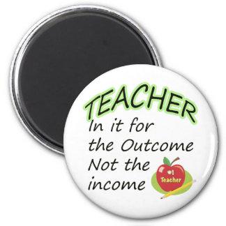 La renta del profesor iman de nevera