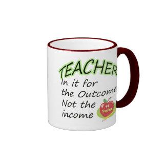 La renta del profesor taza de café