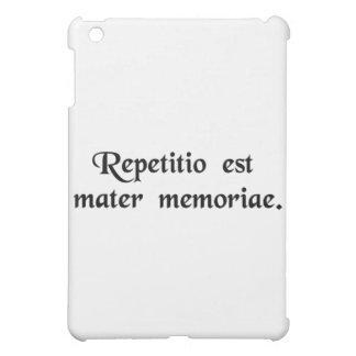 La repetición es la madre de la memoria
