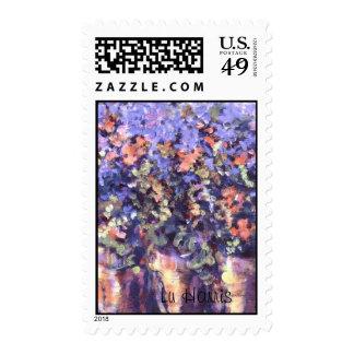 """La representación de la """"begonia tres"""" de mis franqueo"""
