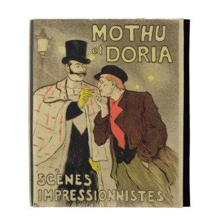 La reproducción de una publicidad de poster 'Mothu