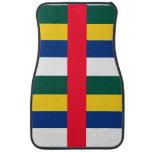 La República Centroafricana Alfombrilla De Coche