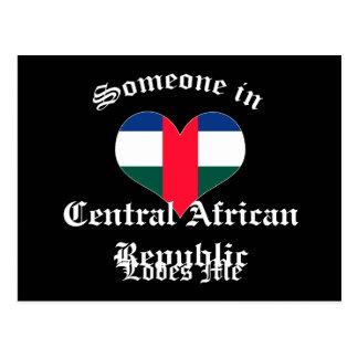 La República Centroafricana Tarjetas Postales