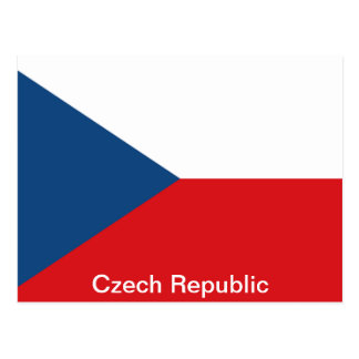 La República Checa de la bandera Postales