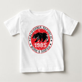 La república de California llevada aumentó 1985 Playera De Bebé
