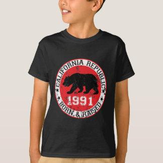 la república de California llevada aumentó 1991 Playera