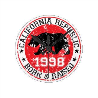 la república de California llevada aumentó 1998 Relojes