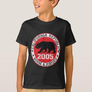 La república de California llevada aumentó 2005 Playera