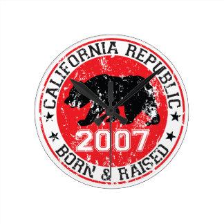 la república de California llevada aumentó 2007 Relojes