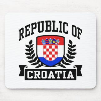 La República de Croacia Tapetes De Raton