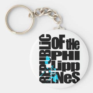 La República de Filipinas Llaveros Personalizados