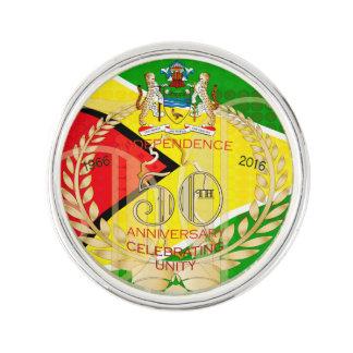 La República de Guyana, 50.a independencia feliz Insignia