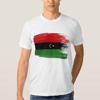 La república de la camiseta de la bandera de Libia Camisas