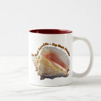 La república de la concha tazas de café