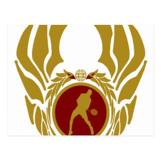 La República de Vietnam Badminton.png Postal